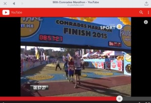 Comrades finish